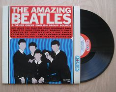 """SALE """"The Amazing Beatles & Other Great English Groups"""" Vinyl Record LP. Compilation"""