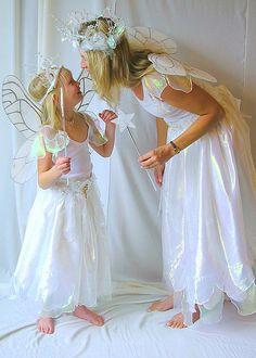 Mother and Daughter Moonbeam Faerie Costumes | von Fairy Nana                                                                                                                                                                                 More
