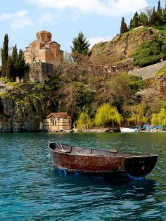 Lake Ohrid,Macedonia