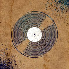 Vinyl Record Stencil