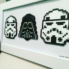 Star Wars - Framed. via SuperJade Designs. Click on the image to see more!