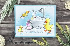 Friendship Cards, Lawn Fawn, Cardmaking, Bubbles, Paper Crafts, Happy, Fun, Making Cards, Paper Craft Work
