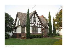 Classic Tudor architecture - love this storybook style home.  Beautiful!