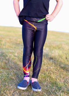 Tron Childrens custom leggings