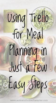 Meal Planning App, Planning Budget, Meal Planning Printable, Meal Planner, Planning Board, Planner Tips, Home Management Binder, Time Management, Special Needs Mom