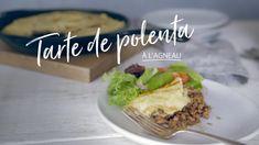 Tarte de polenta à l'agneau Quebec, Sauce Anglaise, Polenta Crémeuse, Main Dishes, Side Dishes, Meat Recipes, Ethnic Recipes, Main Courses, Pork
