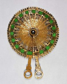 Cockade fan. England, from the Messel-Rosse Collection