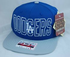 Los Angeles Dodgers Retro Two-Tone Flat-Billed The Original Snapback Cap by  American ee73c56feee
