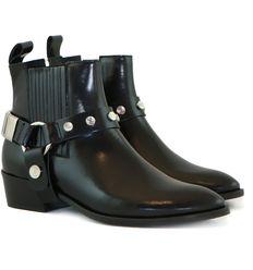 5934a300c7f531 Toral enkellaarsjes 10719 zwart biker kopen bij Steenbergen Schoenen #Toral  #enkellaarsjes #boots #