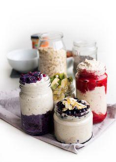 Kahvia & Kasvisruokaa: Grab & Go Puuroa - Tuorepuurojen Perusteet Cheesecake, Food And Drink, Jar, Desserts, Foods, Drinks, Tailgate Desserts, Food Food, Drinking