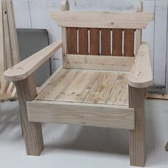 Garden chair and bench combo woodworking plans