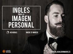 #Curso gratuito de inglés en #Madrid para profesionales de la peluquería, la estética y el estilismo.  #hipster #barbas #barber #look #men #style