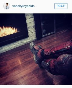 This guy!!! He is more excited about Deadpool than us TBH ;) ♥♥♥ And this picture is BRILLIANT!