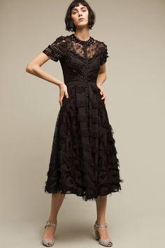 Cabernet Embellished Dress