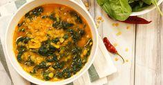 Besonders lecker und ohne Fleisch: das indische Linsen-Curry mit Spinat von Food-Bloggerin Madame Cuisine. Ihr schmackhaftes Rezept verrät sie hier.