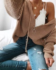 Flawless Summer Outfits Ideas For Slim Women That Looks Cool - Oscilling Cute Casual Outfits, Girly Outfits, Casual Clothes, Fall Winter Outfits, Spring Outfits, Summer Outfit, Winter Clothes, Fall Fashion Trends, Autumn Fashion