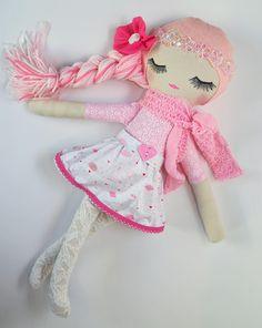 This lovely Valentines Day Inspired Dolly is Ready to ship! ~Handmade Doll~Vintage Doll~Fabric Doll~OOAK Doll~Rag Doll~Valentines Day Girls Gift~Nursery Decor~Girls Decor~Cloth Doll~toys by SewSweetSidekicks on Etsy |handmadedoll |handmadedolls |customdoll |clothdoll |fabricdoll |nurserydecor |ooakdoll |heirloomdoll |dolls |doll |sewsweetsidekicks |handmadetoys | Eyelashes