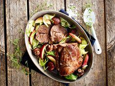 Annonsørinnhold: Her er MENY-kokkens forslag til ukens meny: Uke 7 Scampi, Couscous, Wok, Pot Roast, Pesto, Steak, Bacon, Lunch, Beef