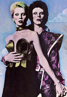Angie & David Bowie the Ziggy Years Angie Bowie, David Bowie Art, Anthony Kiedis, Lauryn Hill, Francis Bacon, Carl Jung, Andy Warhol, Freddie Mercury, 70s Glam