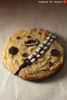 Chewie Wookiee Cookies by susannotsusie, via Flickr