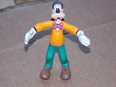 VINTAGE GOOFY TOY RUBBER BENDABLE FIGURE Walt Disney