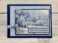 – Sketch Inspiration (Create with Connie & Mary) – Sketch Inspiration – Sketch Inspiration (Create with Connie & Mary) Homemade Christmas Cards, Stampin Up Christmas, Christmas Cards To Make, Xmas Cards, Homemade Cards, Handmade Christmas, Holiday Cards, Christmas Presents, Stampinup Christmas Cards