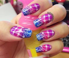 Hehe nail stamping