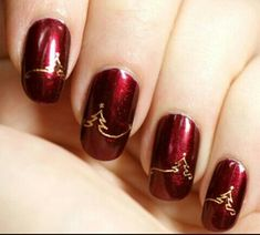 Imagem de nails and christmas
