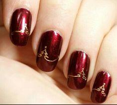 Imagem de nails and christmas