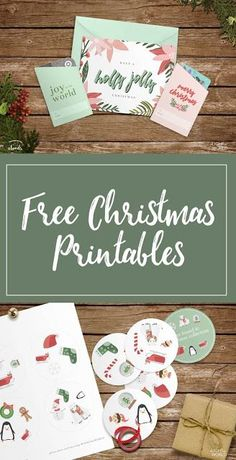 Free printable service kit includes Christmas card, Christmas coloring sheets, Christmas Eye Spy game, Christmas gift card holders and more!