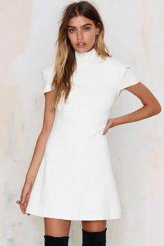 Nasty Gal Perfect Form Mini Dress