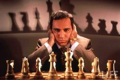 Garry Kasparov. The greatest chess player of all time.