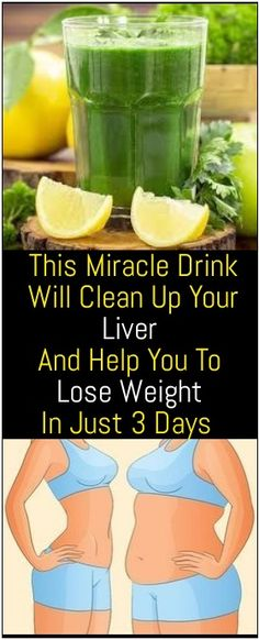 Drinking this miracle drink will clean up your liver and it will start to function better, helping you in losing weight