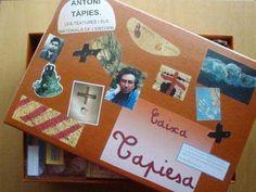 Caixes plenes d'art… Crafts For Kids, Arts And Crafts, Games, School, Doha, Ideas, Box, Artists, Art