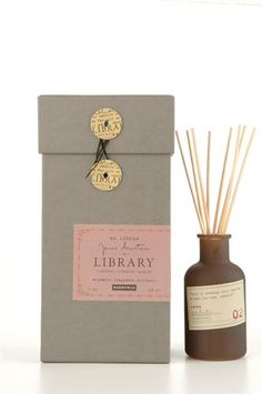 Paddywax Candles Library Collection Jane Austen Fragrance Diffuser Set, (Gardenia, Tuberose, and Jasmine) Ex Libris, Jane Austen, Paddywax Candles, Curiosity Shop, Luxury Candles, Business Gifts, Book Lovers Gifts, Jasmine, Oscar Wilde
