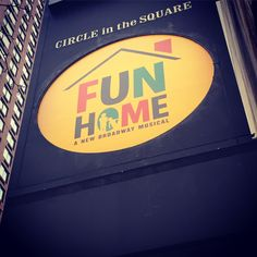 Tony Award-winning Best Musical Fun Home at the Circle in the Square Theatre.