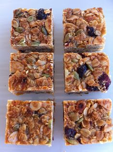 A delicious, chewy muesli slice, perfect for lunchboxes, entertaining or even keeping in the freezer. Super easy to make, courtesy of . Muesli Slice, Apricot Slice, Oatmeal Biscuits, Fudge, Healthy Recipes, Healthy Food, Waffles, Yummy Food, Baking