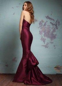 Las mejores ideas en vestidos vino de moda 1