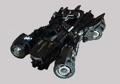Batman Arkham Knight Batmobile LEGO Set