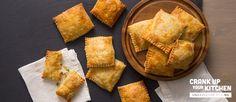 Chicken Pot Pie Hand PiesUse pillsbury pie dough and use Lakin's milk