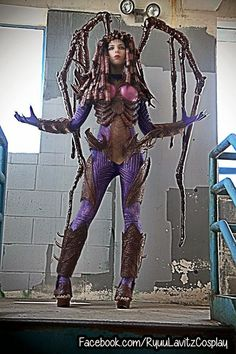 Galaxy Fantasy: Diseño cosplay de Sarah Kerrigan de StarCraft