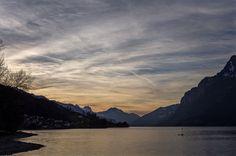 Lake Walenstadt - Lake Walenstadt, Canton of St. Gallen, Switzerland