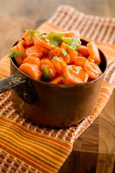 Honey Lemon Carrots  : I think I would rather try this with fresh tarragon, that licorice flavor would compliment the honey sweetness nicely :