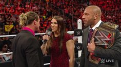 Dolph Ziggler confronted Triple H and Stephanie leading to a match-up later in…