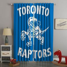 3D Printed Toronto Raptors Style Custom Living Room Curtains – Westbedding 3d Curtains, Green Curtains, Custom Curtains, Blackout Curtains, Panel Curtains, Bedroom Curtains, Toronto Raptors, Digital Prints, 3d Printing