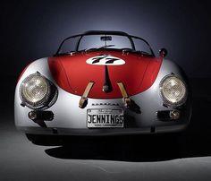 Porsche 356 Cabrio - Sweet! #Racing #Speed #Power #Performance #Cars #CarShowSafari