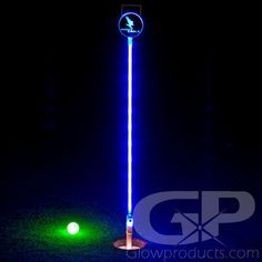 Mini Putt LED Flag Sticks for lighting up the Practice Green or Backyard Mini Golf. Light Up LED Glow Golf Flags Golf Flag, Battery Operated Led Lights, Miniature Golf, Golf Putting, Glow Sticks, Light Colors, Night, Golf Tips, Party Games