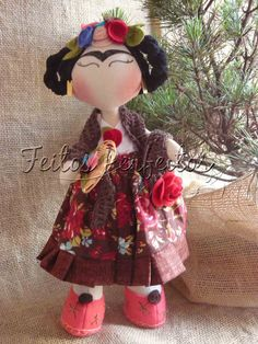 Living Dolls, Art Dolls, Doll Clothes, Minnie Mouse, Sewing Projects, Disney Princess, Disney Characters, Toys, Pattern