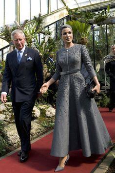 Шейха Моза с принцем Чарльзом