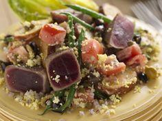 Delmonico's Yellowfin Tuna Nicoise from FoodNetwork.com